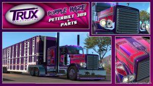 Trux Purple Haze Slin & Parts + Lights 1.34.X for American Truck Simulator