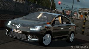 Renault Fluence V1R10 1.35 for Euro Truck Simulator 2