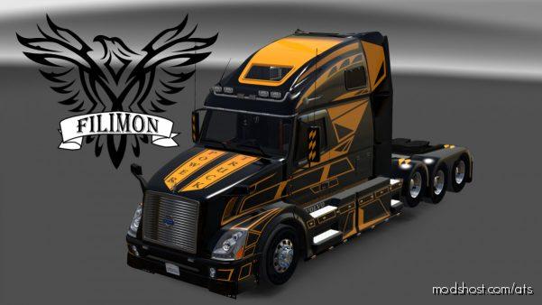 Progressive Geometry Skin for American Truck Simulator