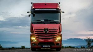New Mercedes Actros Sounds 1.35 V1.01 for Euro Truck Simulator 2