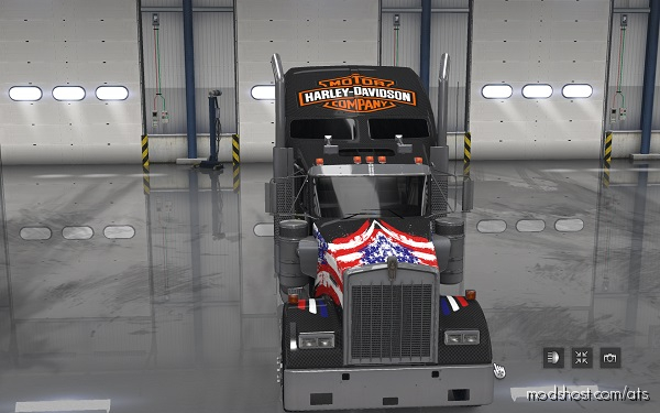 Harley Davidson 2 Skin for American Truck Simulator