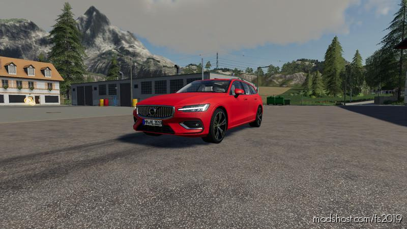 Volvo V60 Inscription V1.2.2 for Farming Simulator 2019