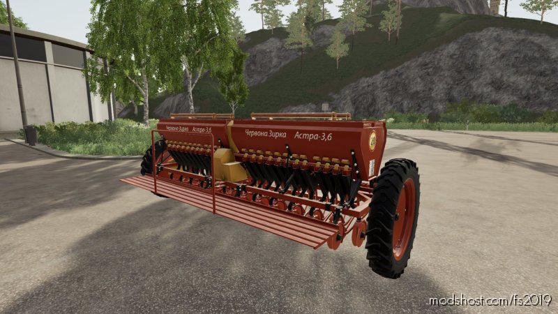 Astra Szt 3.6A + Coupling for Farming Simulator 2019