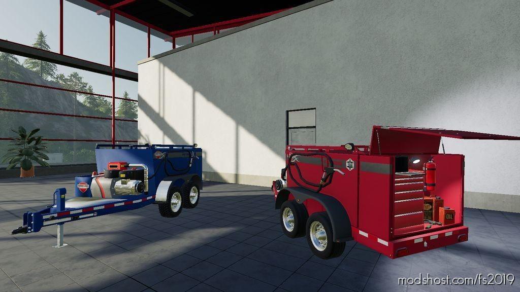 Field Service Trailer V1.2 for Farming Simulator 2019