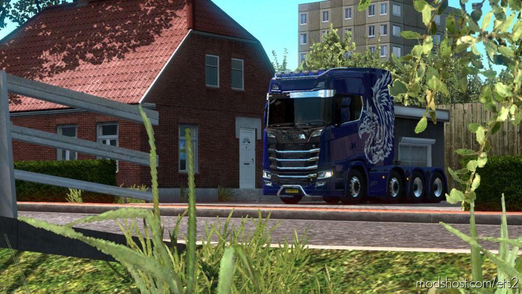 Tregion Map V0.1.3 for Euro Truck Simulator 2