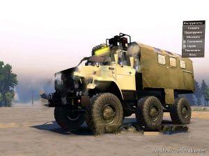 Zil-4972 Truck Mod V1.0.1 for MudRunner