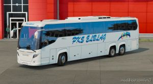 Pks Elblag For Ets2 1.35.X – Bus Scania Touring 1.34 for Euro Truck Simulator 2