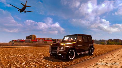 Mercedes-Benz G65 Amg 1.35 for Euro Truck Simulator 2