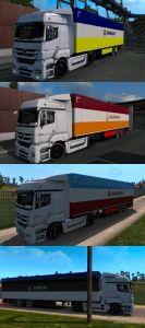 Superleague Trailer Skin Pack 1.35 for Euro Truck Simulator 2