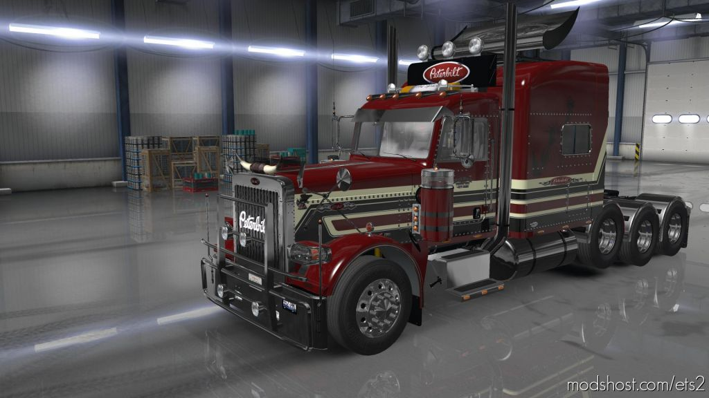 Peterbilt 389 Skin #2 By Wopito 1.35.X for Euro Truck Simulator 2