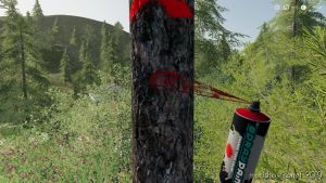 GlobalCompany Addon TreeMarker for Farming Simulator 2019