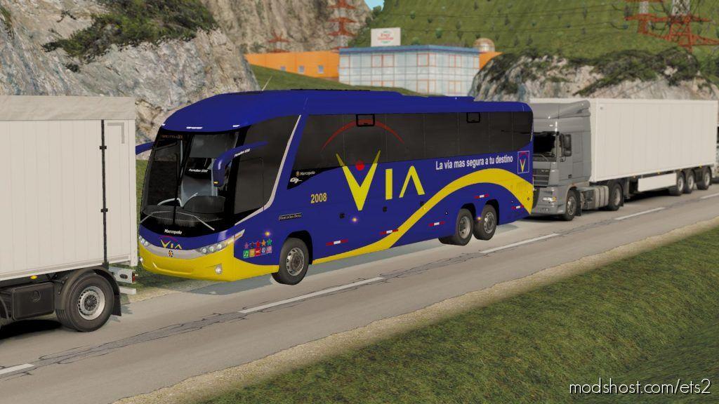 Bus Traffic Pack G7 1.35 for Euro Truck Simulator 2