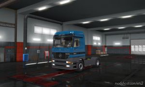 Mercedes-Benz Actros Mp1 1.35.X for Euro Truck Simulator 2