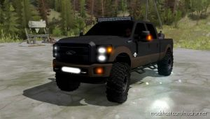 2016 Ford F350 King Ranch Mod for MudRunner