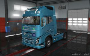 Volvo FH16 2012 Reworked V3.1.4 1.35 for Euro Truck Simulator 2