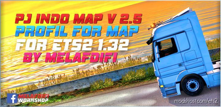 Profil For Map PJ Indo V2.65  1.35 for Euro Truck Simulator 2