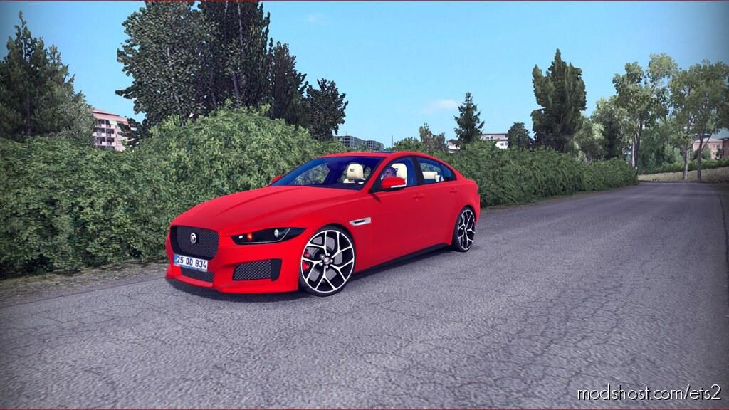 Jaguar Xe 1.35.X for Euro Truck Simulator 2