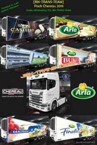 Jbk Pack Arla 2019 V2.0 for Euro Truck Simulator 2