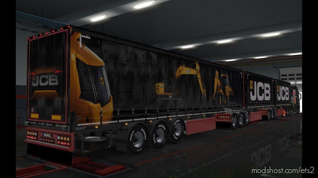 Jcb Ownership Trailer Skin for Euro Truck Simulator 2