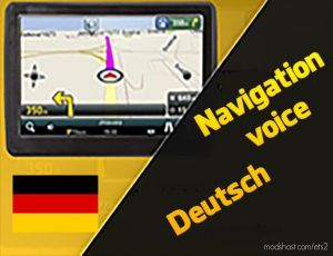 Navigation Voice In German By R.k.m 1.35.X for Euro Truck Simulator 2