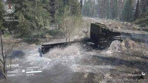 Flooded Forest Map for MudRunner