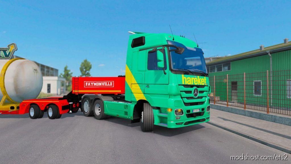 Mp3 Mp4 Skin Hareket – Ets2 1.35 for Euro Truck Simulator 2