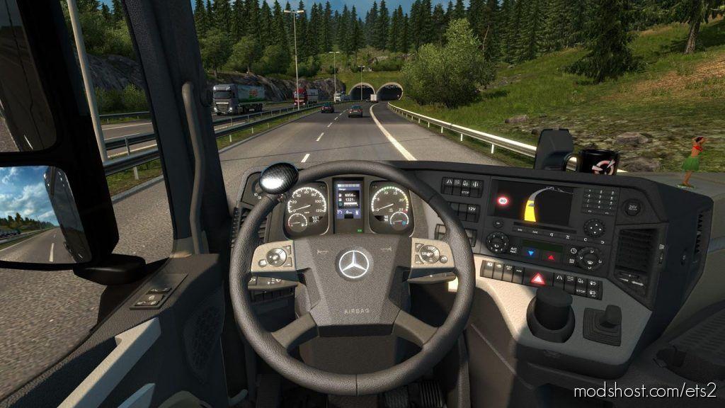 Pneumatic Seat V7.0 for Euro Truck Simulator 2