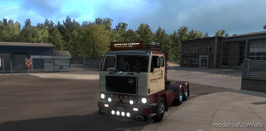 Volvo F88 + Bdf Trailer V1.1 for American Truck Simulator