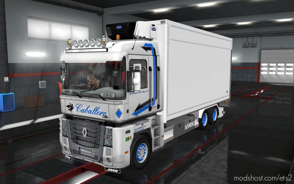 Rigid Chassis Pack For All Scs Trucks – V2.0 for Euro Truck Simulator 2