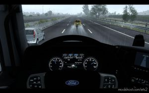 Dashboard Improvement For Ford F-Max V1.1 for Euro Truck Simulator 2