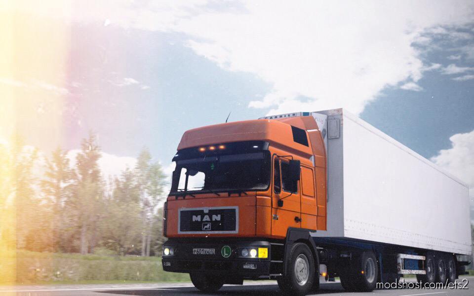 Man F2000 414 Comandor 1.35.X for Euro Truck Simulator 2