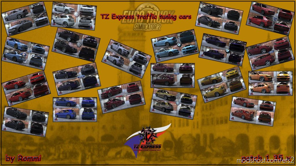 TZ Tuning Ai Cars 1.35.X for Euro Truck Simulator 2