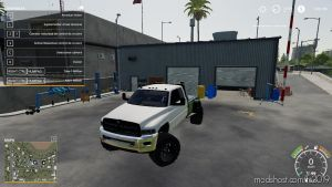 2ND Gen Ram 2500 Flatbed for Farming Simulator 2019