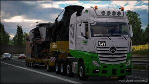 Big Stars – Actros / Arocs Slt V1.5.5.3 1.35.X for Euro Truck Simulator 2