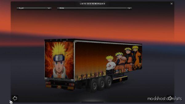 Naruto Trailer for American Truck Simulator
