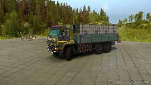 Kamaz 65221 6×6 Truck V2.0 for MudRunner