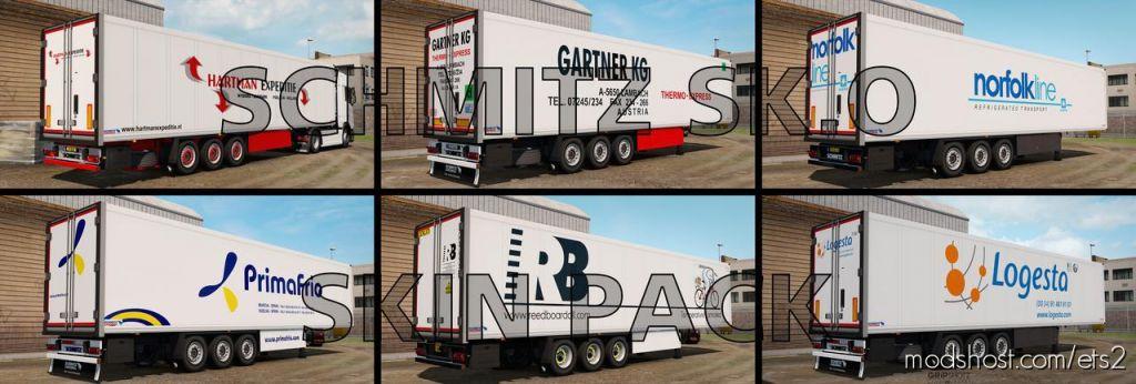 Schmitz Sk.o Skin Pack for Euro Truck Simulator 2