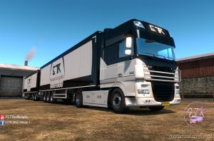 Skin Pack Transport & Logistics For Daf Xf 105 1.35.X for Euro Truck Simulator 2