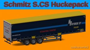 Schmitz Hupa Curtain 1.35 for Euro Truck Simulator 2