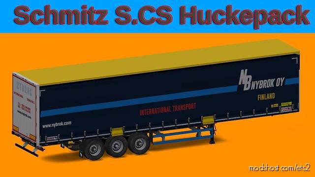 Schmitz Hupa Curtain 1.35 for Euro Truck Simulator 2