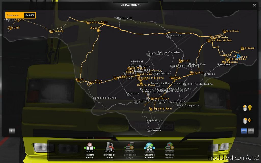 Profile Map Eldorado Pro 1.7.3 1.35 for Euro Truck Simulator 2