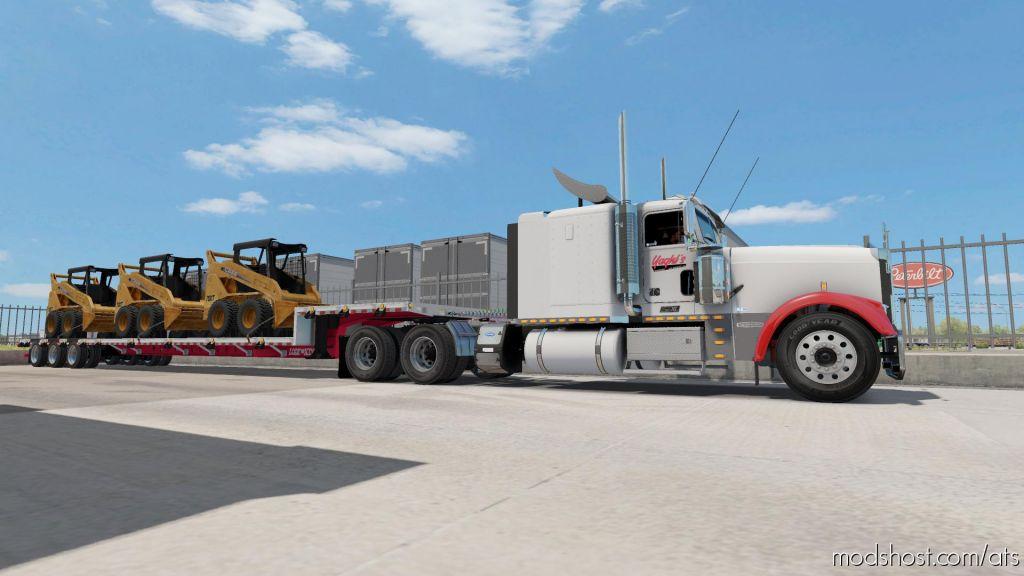 Lode King Drop Deck V2.5 for American Truck Simulator