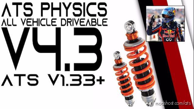 Ats Physics V4.3 for American Truck Simulator