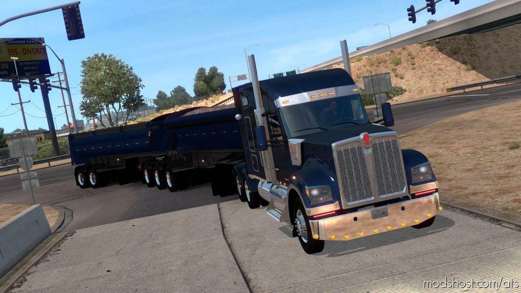Midland B-Train Dump Ownable V3.0 1.33.X for American Truck Simulator