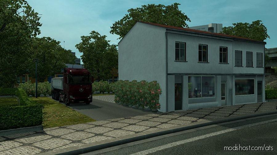 Simple House Mod – Amsterdam for American Truck Simulator