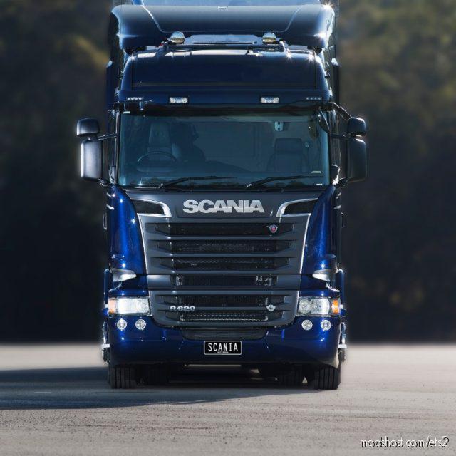 Scania R And Streamline Real V8 Sound 1.35 for Euro Truck Simulator 2