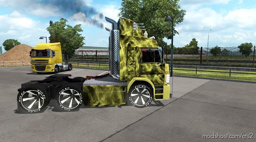 Kamaz 54115 Turbo V8 1.35 for Euro Truck Simulator 2