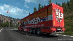 Marc Marquez Truck & Trailer for Euro Truck Simulator 2