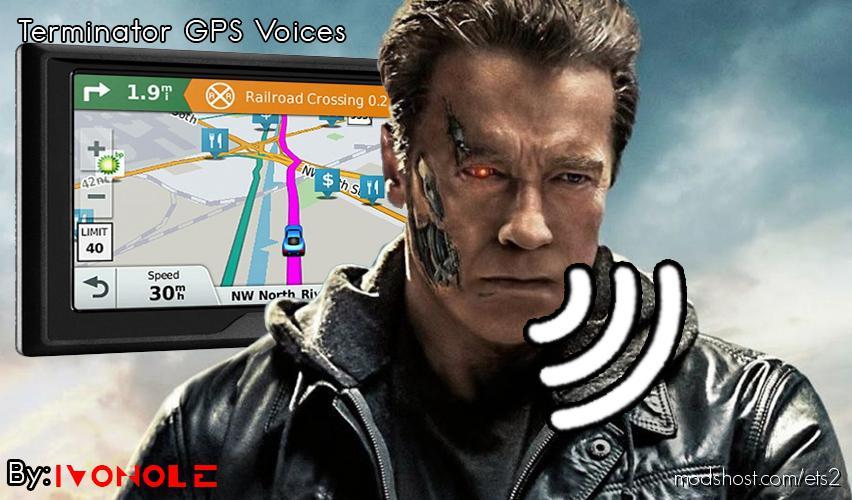 Terminator Gps Voices for Euro Truck Simulator 2
