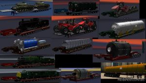 Chris45 ATS Trailers Pack V2.00 [1.31] for American Truck Simulator